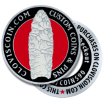 ClovisCoin Challenge Coins and Lapel Pins